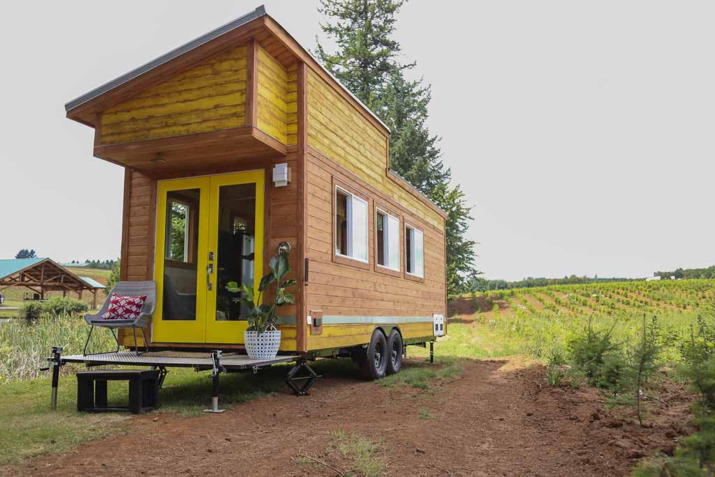 traveling tiny home