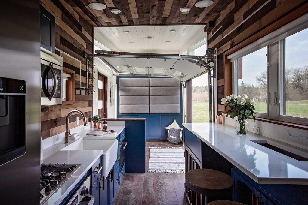 tiny house interior kitchen