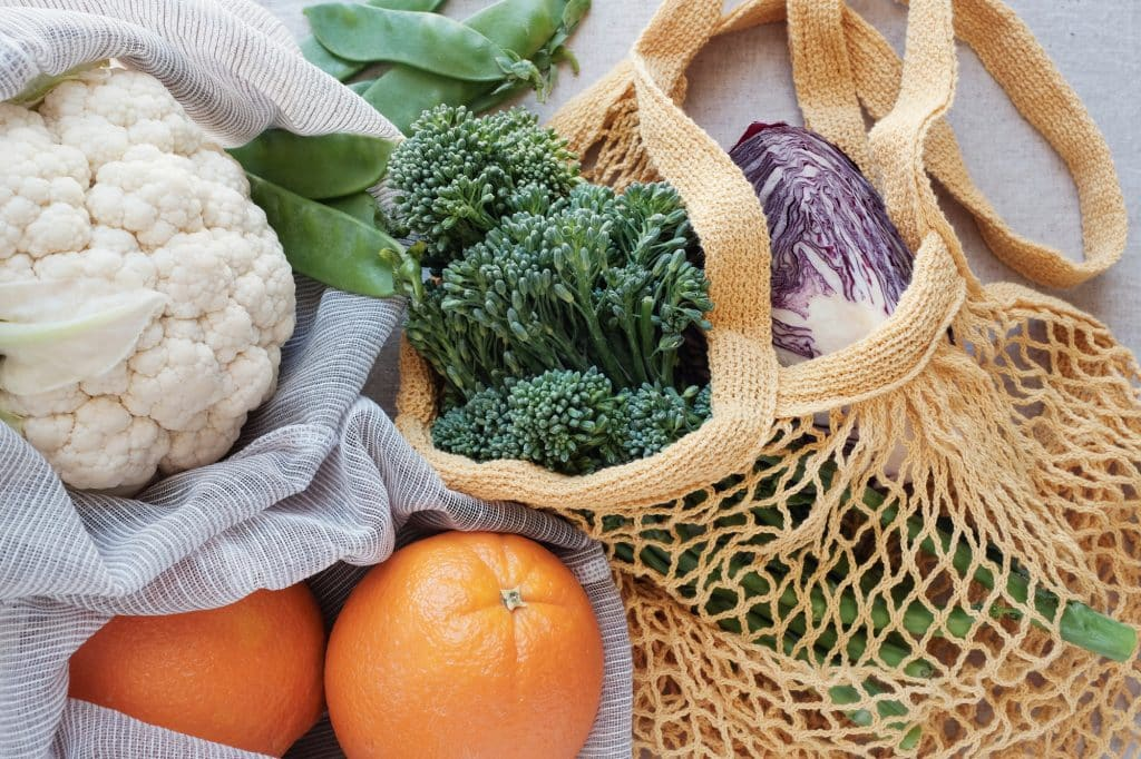 sustainable grocery shopping