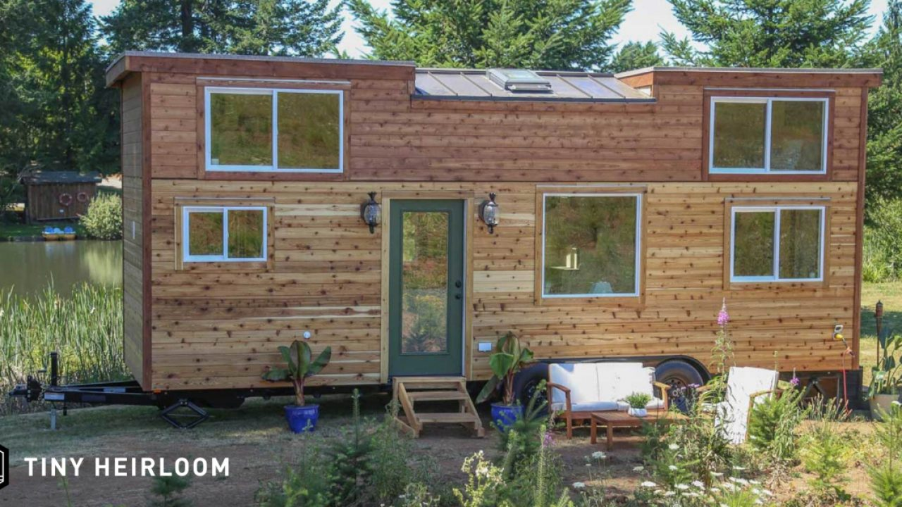 Going Rogue With An Off Grid Tiny Home Heirloom