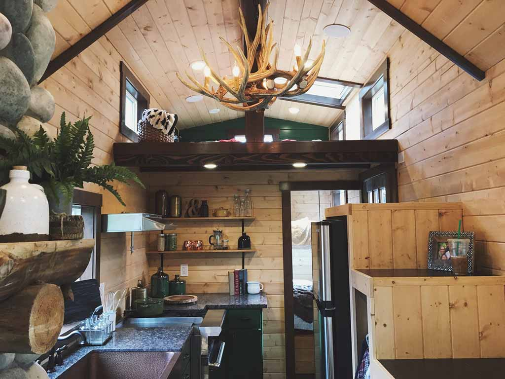 small cabins rustic