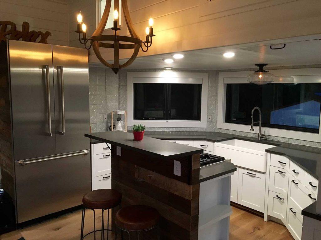 tiny luxury house cabinets